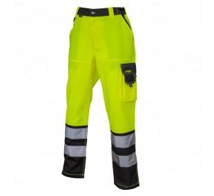 Pantalón gabardina Alta visibilidad bicolor CLASE 2